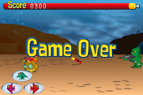 Screenshot Deep Sea Battle Lite