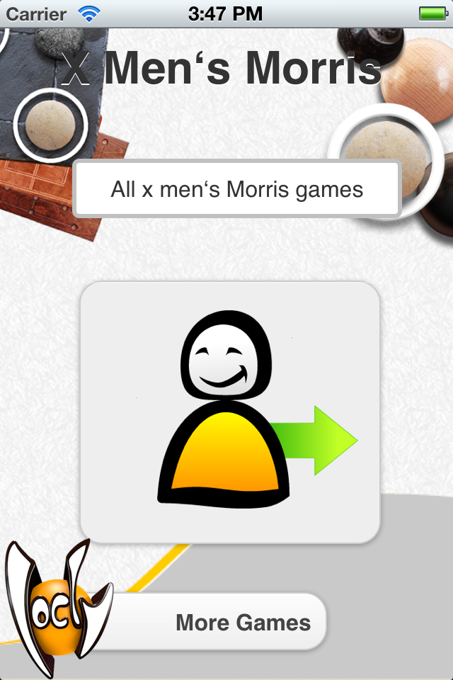 Screenshot X Men's Morris Free